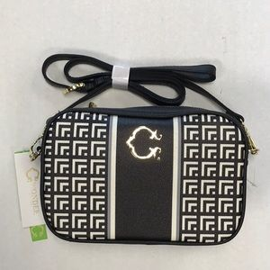 Caiden bag black fencing geo C Wonder